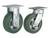 MEDIUM/HEAVY DUTY KINGPINLESS CASTERS