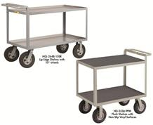 """CUSHION LOAD"" SHELF TRUCKS"